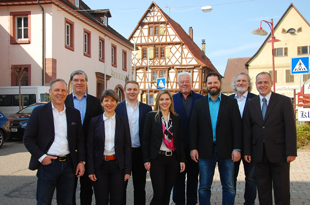 Gruppenbild SPD Ortsverein Wiernsheim